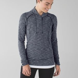 Lululemon think fast pullover size 6 sweater